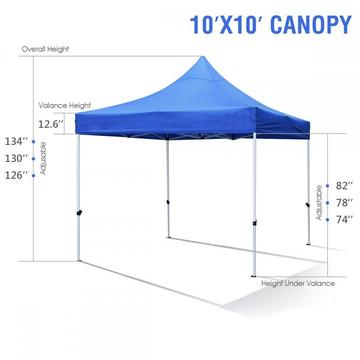 miglior gazebo pop-up impermeabile 3x3