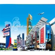 Alunewall Extérieur Bâtiment Décoration Aluminium publicité enseigne alucobond ACP