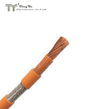 EV 2AWG 35mm Silicone Insulation High Voltage Shielded Power Cable for Electric Vehicle