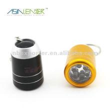 Hot selling 6 LED mini led keychain