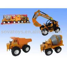 free wheel plastic small toy truck
