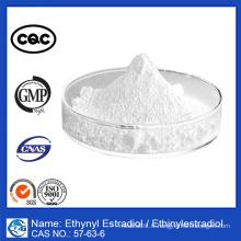 99% de pureté N ° CAS: 57-63-6 Ethynyl Estradiol Ethinylestradiol