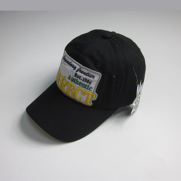 6 Panel Stickerei Patch Sport Cap