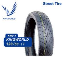 Neumático de motocicleta de alta velocidad 120 / 60-17
