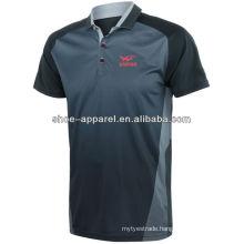 2014-2015 hot sublimatin tennis table polo shirt