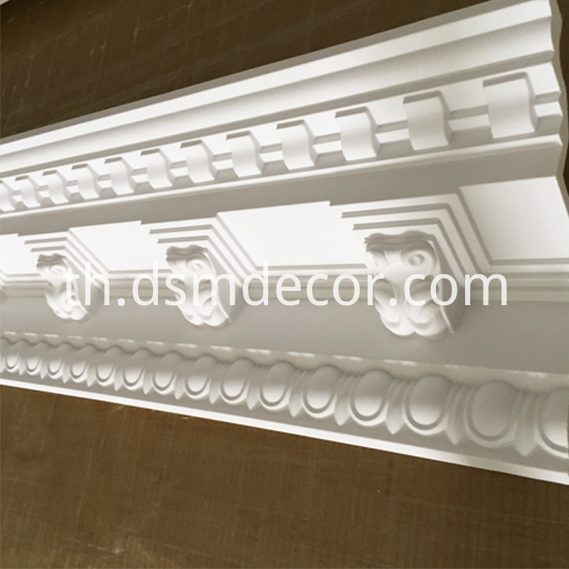 Big Size Decorative PU Cornice