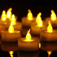 Flammenlose Kerze führte Lichtkerze führte Teekerze