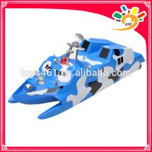 HT nuevos productos 1: 275 barco de misiles inalámbricos 2.4GHz de alta velocidad Racing Remote Control RC Boat