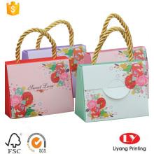 Bolsa de papel de regalo de boda caliente para dulces
