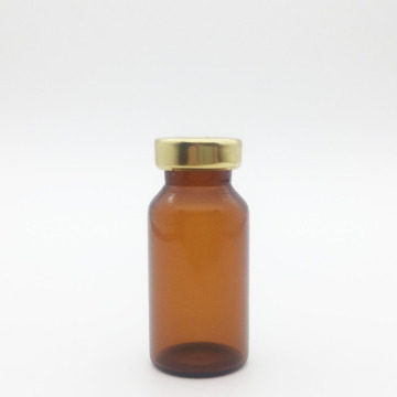 10ml ámbar estéril Seum Vials Gold Cap