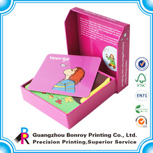 таможня напечатала карточки детей бумага флэш-карты, жесткий бумажная карточка