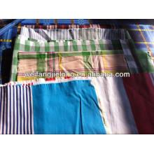 100% algodón teñido teñido de la tela