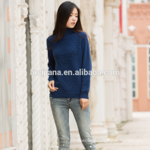 100% cashmere women's colorful neps sweater