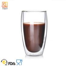 450ml Double-Wall Glass Cup (XLSC-001 450ml)