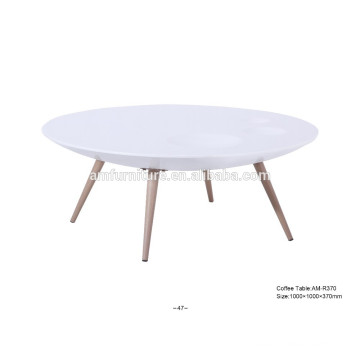 Small wooden unique end coffee table