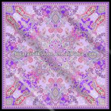 2014 Новый дизайн Японский шелковый шарф