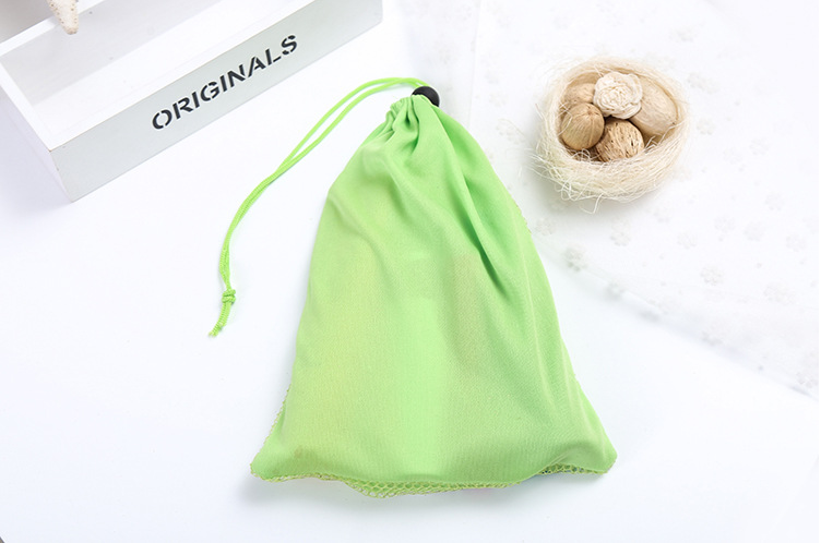 Compact And Portable Cosmetic Mesh Bag