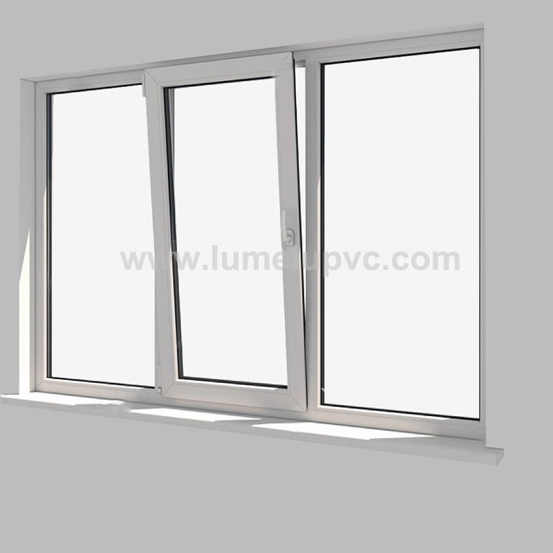 white uPVC profiles