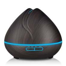 woodgrain diffuser yoga use air humidifier 400ml