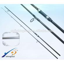 CPR002 im6 carbono carpa vara de pesca em branco tele carpa haste