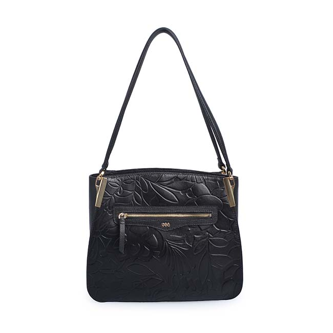 Fashion Ladies Blank Leather Shopping Tote Shoulder Bag Women
