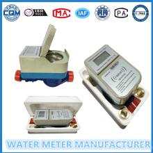Medidor de fluxo de água individual pré-pago Um medidor Um cartão