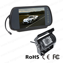 7inch espejo de copia de seguridad del sistema de monitor de la cámara LCD TFT Mirror Monitor