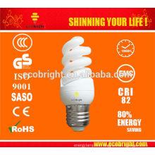 11W T3 skd Mini espiral completo ahorro lámpara 10000H CE calidad