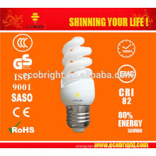 11W T3 skd Mini spirale pleine économie d'énergie lampe 10000H CE qualité