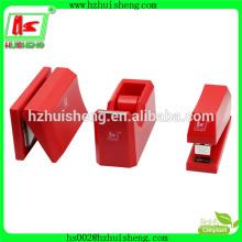 stationery set stapler punch tape dispenser, office supply stapler punch