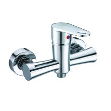 Wall-mounted brass hand shower faucet single function