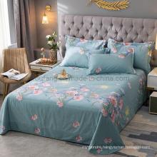 Factory Cotton California King Size Bedsheet Modern Design for Wholesale Market