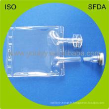 Sac médicamenteux pour infusion de PVC IV