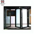Puertas batientes de vidrio interior 2018 puerta de vidrio de aluminio insonorizada