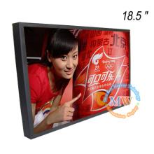 1366X768 résolution 18,5 pouces moniteur vidéo numérique pour la publicité commerciale
