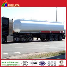 3 Axle 40-60cbm Truck Oil Chemical Liquid Tank Semi Trailer