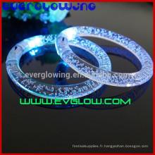 Bracelets LEDsacryliques clignotants pour la fête