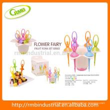 Fairy Ballet Fruit Fork Set,Fruit Toothpick