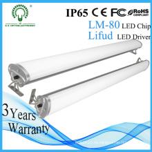 Nuevo uso de almacén subterráneo del estacionamiento del uso Aluminio impermeable 4ft IP65 LED de la luz linear
