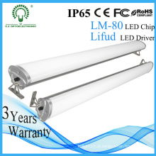 Novo Estacionamento Subterrâneo Armazém Uso Impermeável Alumínio 4ft IP65 LED Linear Light
