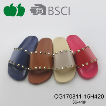 Ladies Newest Flat Summer Plastic Slipper