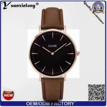 Yxl-233 Custom Cluse Watches Fashion Genuine Leather Brand Watches Ladies Business Men Watch