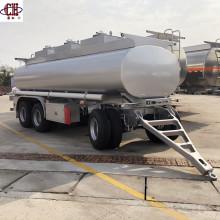 Semirremolque de aluminio con tanque de aceite Dolly