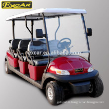 Type de carburant électrique et tension de batterie 48V pas cher buggy de golf électrique