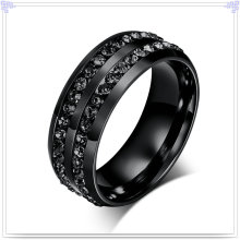 Crystal Jewelry Fashion Accessories Stainless Steel Ring (SR157)