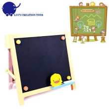 Children Home Wooden Small Black Magnet Chalk board