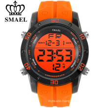 SMAEL Mens Sports Watches Digital LED Military Watch