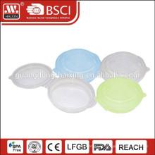 Récipient de nourriture rond, Articles de ménage en plastique (1L)