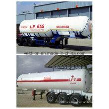 3 Axles/56cbm Liquid Petroleum Gas Tanker Semi-Trailer for Nigeria