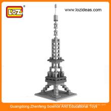 Eiffel Tower world famous architecture Cubic fun 3d puzzle